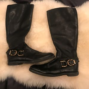 Authentic Burberry Equestrian Boots